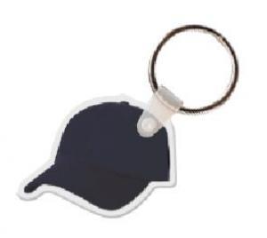 BaseBall Cap Vinyl Key Tag