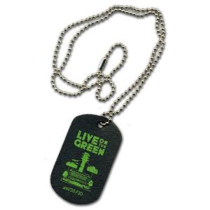Recycled Tire Dog Tag