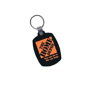 Key Tag from Recycled Tires