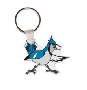 Blue Jay  Vinyl Key Tag