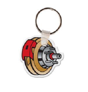 Brake Rotor Soft Vinyl Keychain