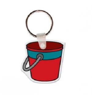Bucket Vinyl Keychain