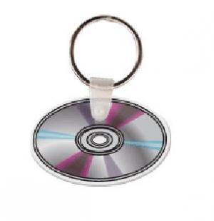 CD Soft Vinyl Keychain
