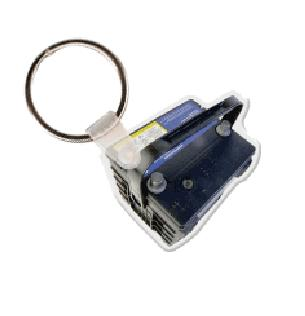 Car Battery Soft Vinyl Keychain