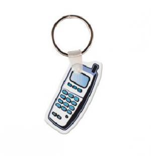 Cell Phone Soft Vinyl Keychain