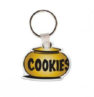 Cookie Jar Vinyl Keychain