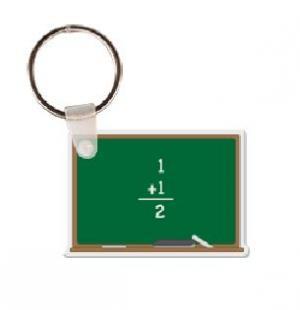 Chalkboard Vinyl Key Tag