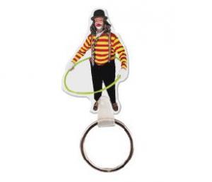 Clown Vinyl Key Tag