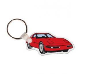 Corvette Soft Vinyl Keychain