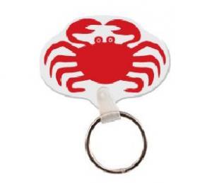 Crab Soft Vinyl Keychain