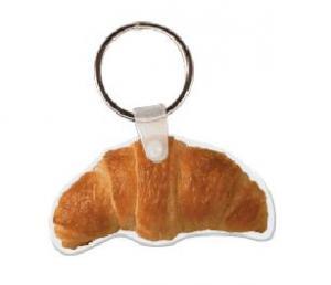 Croissant Soft Vinyl Keychain
