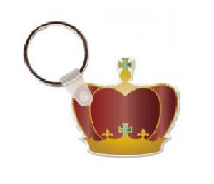 Crown Soft Vinyl Key Tag