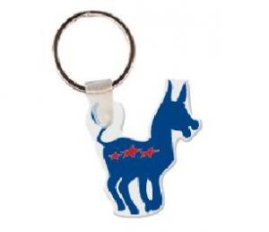 Donkey Soft Vinyl Keychain