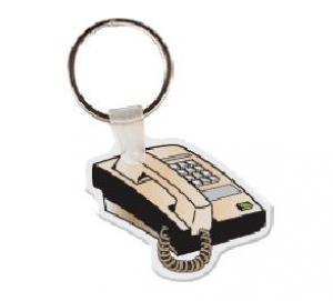 Office Phone Soft Vinyl Key Tag