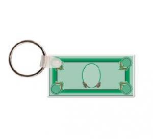 Personal Dollar Bill Vinyl Keychain