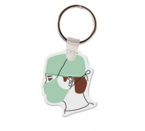 Doctor Soft Vinyl Key Tag