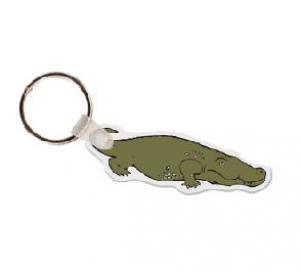 Alligator Soft Vinyl Keychain