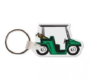 Golf Cart Soft Vinyl Key Tag