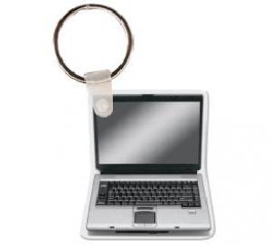 Laptop Soft Vinyl Key Tag