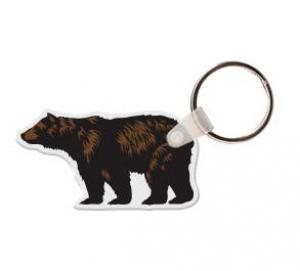 Grizzly Bear Soft Vinyl Keychain