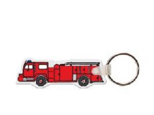 Firetruck Soft Vinyl Key Tag