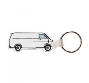 80s Van Soft Vinyl Keychain