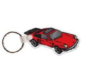 Porsche Soft Vinyl Keychain