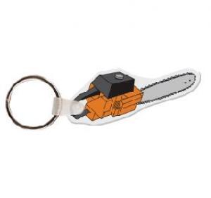 Chain Saw Soft Vinyl Keychain
