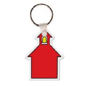 School House Soft Vinyl Keychain