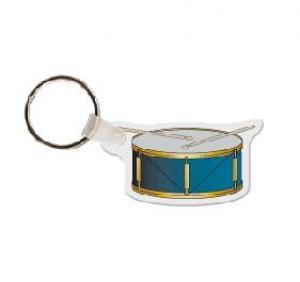 Drum Soft Vinyl Keychain