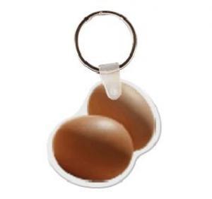 Egg Soft Vinyl Keychain