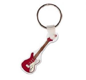 Electric Guitar Soft Vinyl Keychain