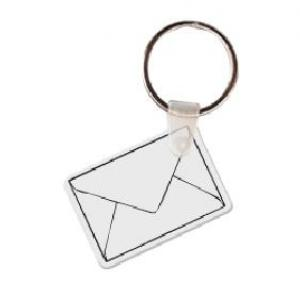 Envelope Soft Vinyl Key Tag