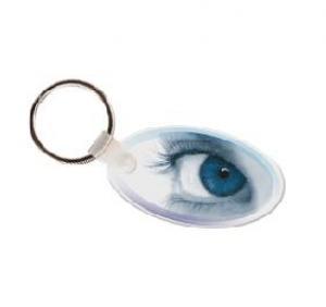 Eye Soft Vinyl Key Tag