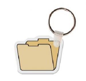 Manilla Folder Vinyl Key Tag