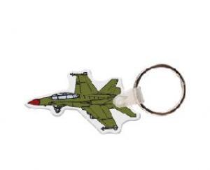 Fighter Jet Vinyl Keychain