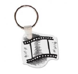 Film Strip Vinyl Keychain