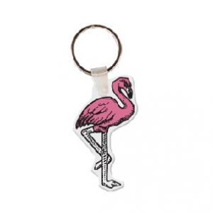Flamingo Soft Vinyl Key Tag