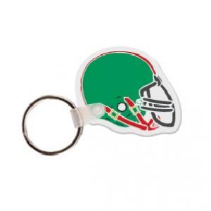 Football Helmet Soft Vinyl Key Tag