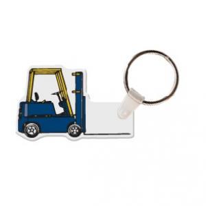 Forklift Soft Vinyl Key Tag