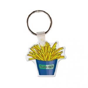 Box of Fries Soft Vinyl Keychain
