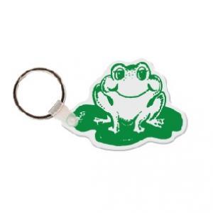 Frog Soft Vinyl Key Tag