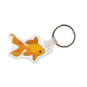 Gold Fish Soft Vinyl Keychain