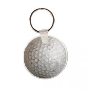 Golf Ball Soft Vinyl Keychain