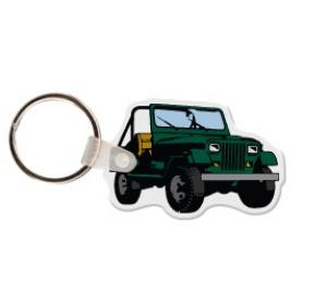 Jeep Soft Vinyl Key Tag
