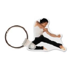 Karate Man Soft Vinyl Key Tag