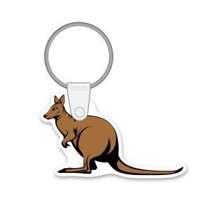 Kangaroo Soft Vinyl Key Tag