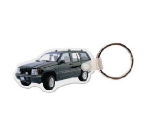 Jeep Cherokee Soft Vinyl Key Tag