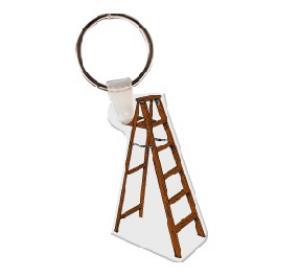 Ladder Soft Vinyl Keychain