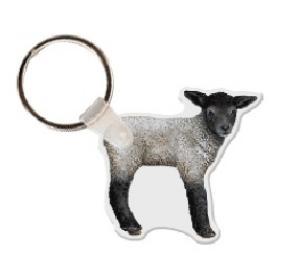 Lamb Soft Vinyl Keychain